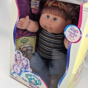Cabbage Patch Doll Magic Touch Colorsilk Kids 2006